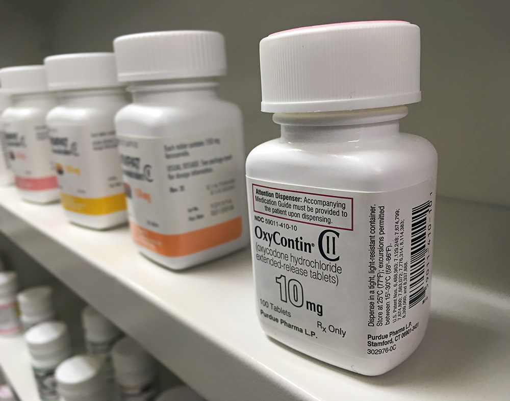 The painkiller drug OxyContin was a main factor in the development of the opioid overdose crisis.