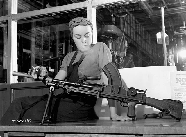 The Bren Gun Girl