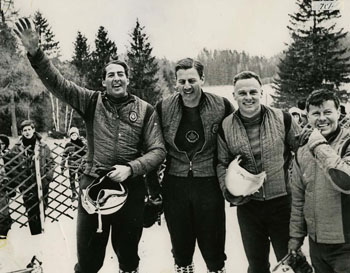 Canada's First Bobsledders