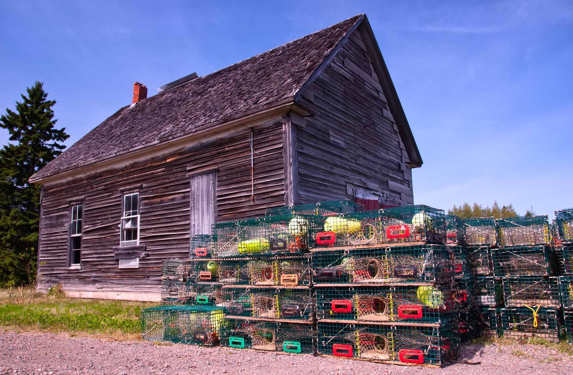 Lobster Traps, New Brunswick