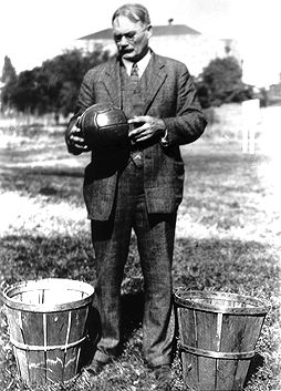 James Naismith, inventor of basketball