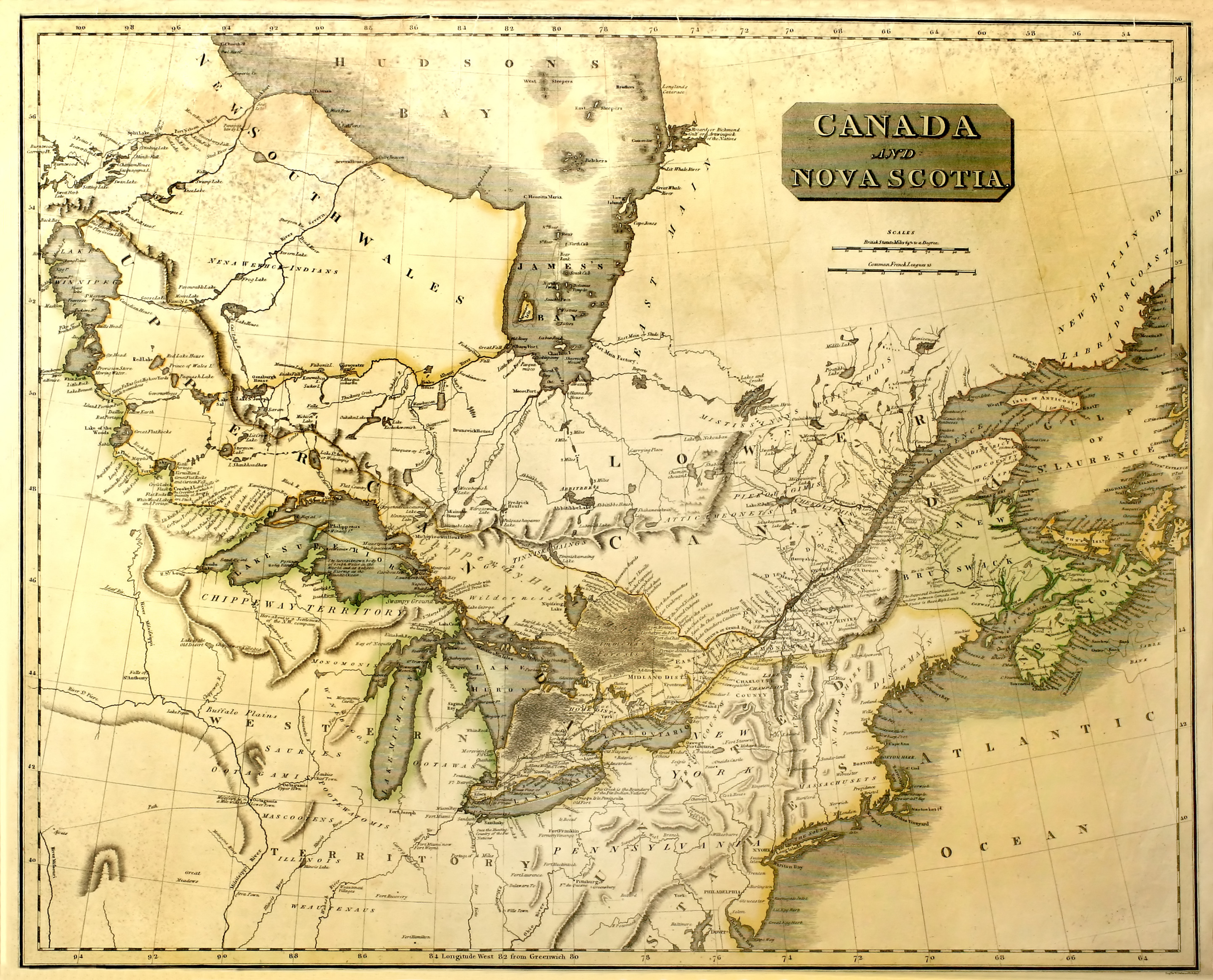 Map Of Canada In The 1800s Historical Boundaries of Canada | The Canadian Encyclopedia