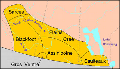History Of Settlement In The Canadian Prairies The Canadian - Original prairie areas in the us map