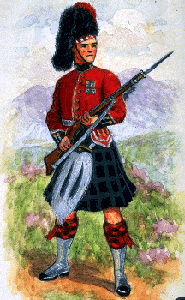 Uniforme : Royal Highlanders