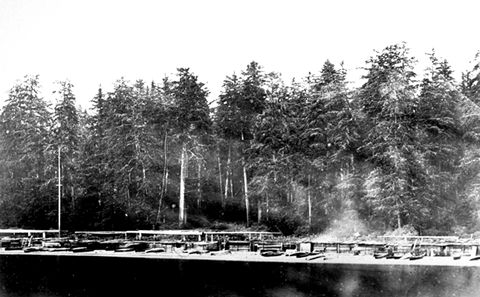 Village des Nuu-chah-nulth