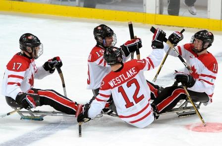 Sledge Hockey Team, 2010 Paralympic Winter Games