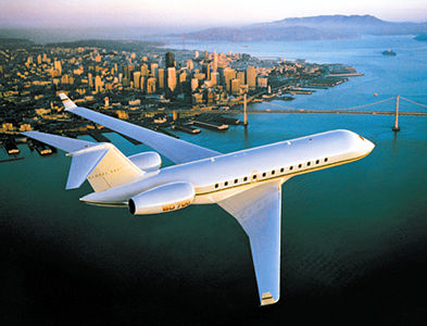 Le Global Express de Bombardier