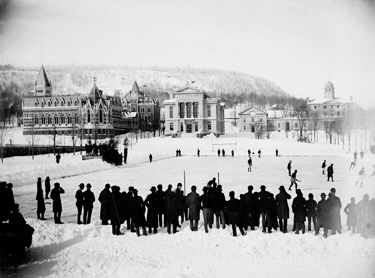 Hockey sur glace, Université McGill, 1884