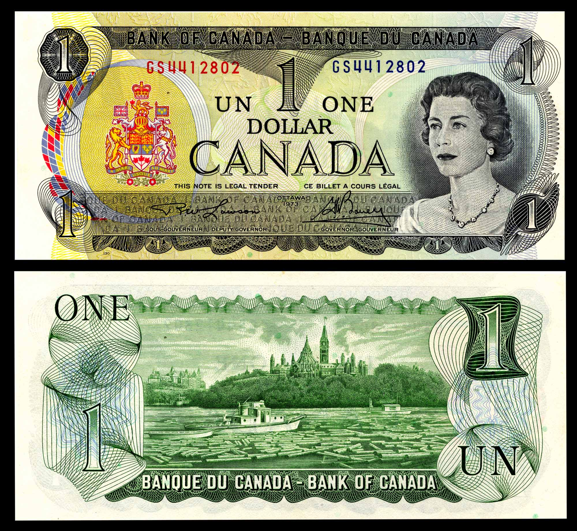 Canadian Dollar - 1973