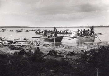 Tlicho on Great Slave Lake, 1900