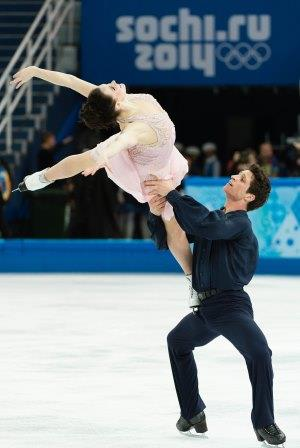 Tessa Virtue et Scott Moir, Sochi 2014