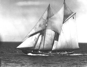 Bluenose: \u0093I gave her the power to carry sail.\u0094