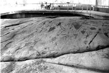 Peterborough Petroglyphs Site