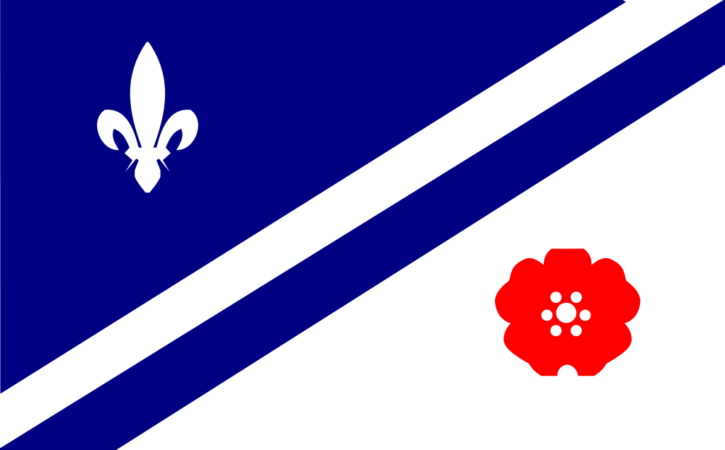 Flag of Franco-Albertans