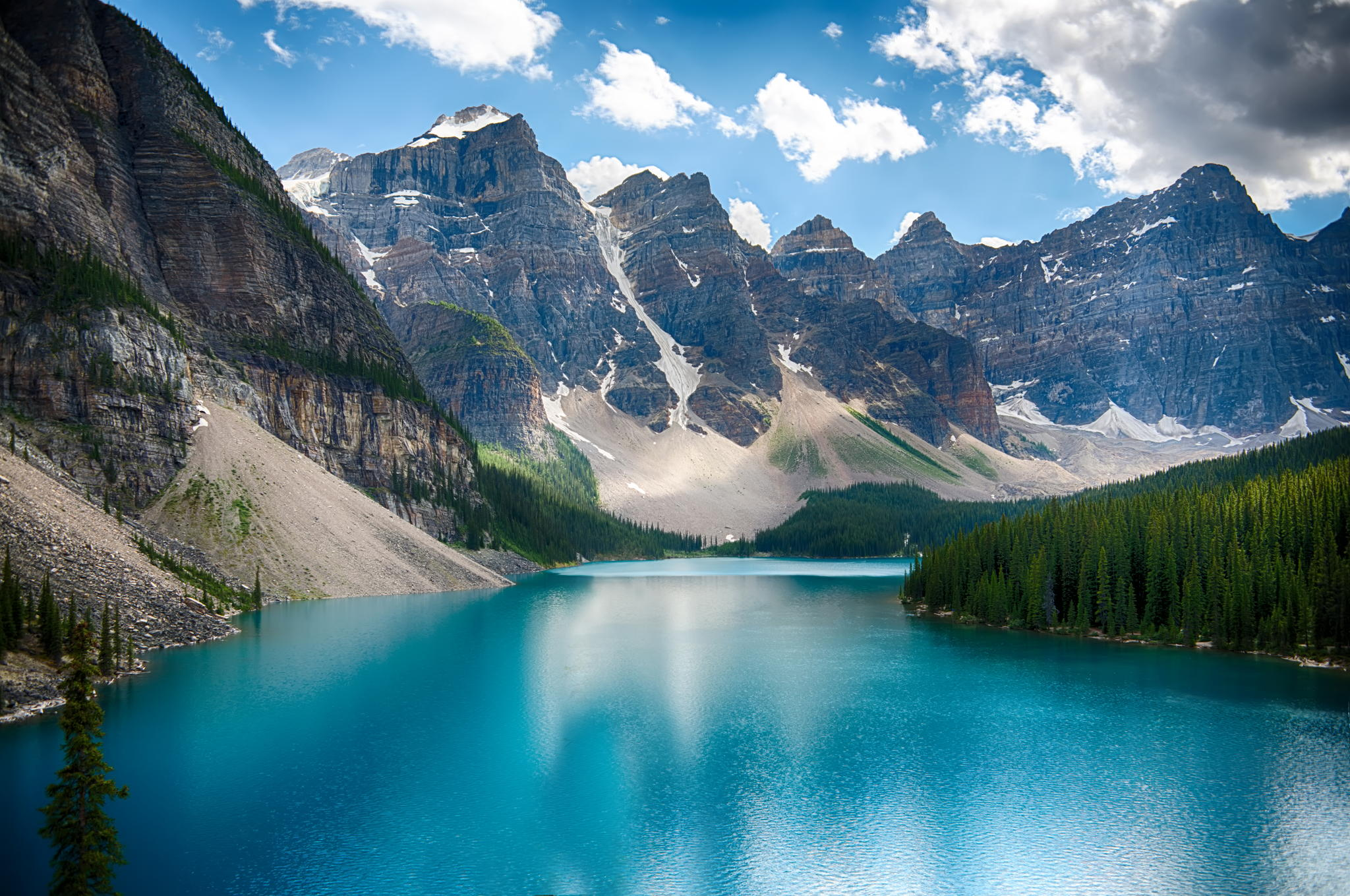 Moraine Lake in Banff National Park, 2012