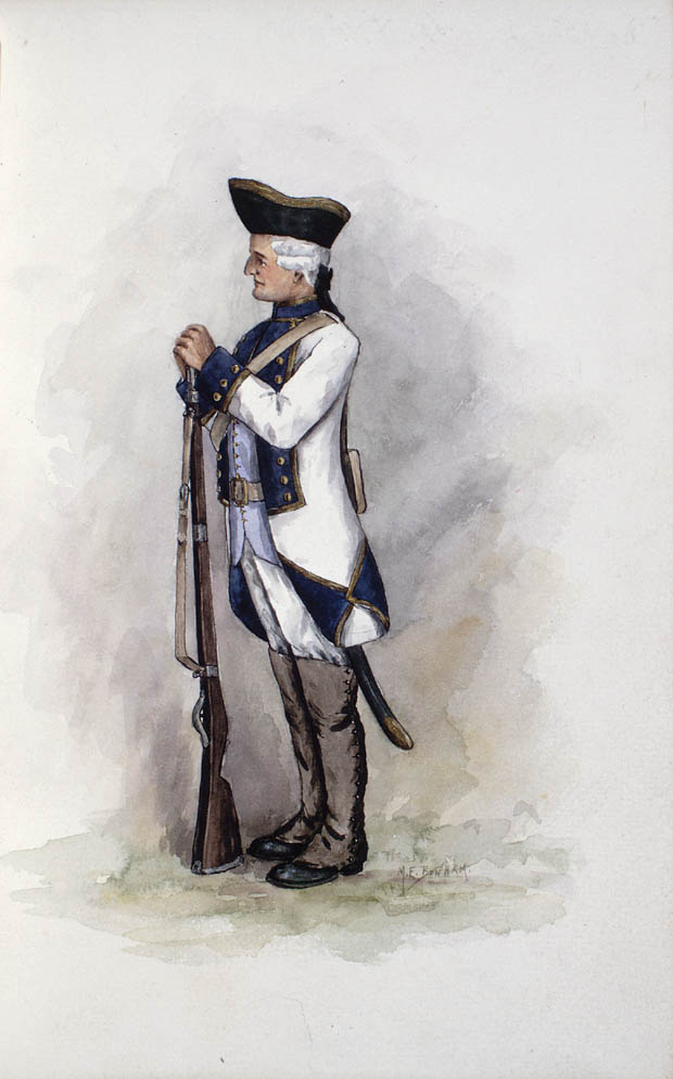 A soldier from the Compagnies franches de la Marine