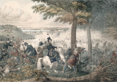 """Battle of the Thames"" (Moraviantown), Emmons"