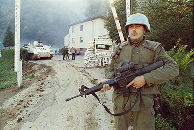 War in the former Yugoslavia