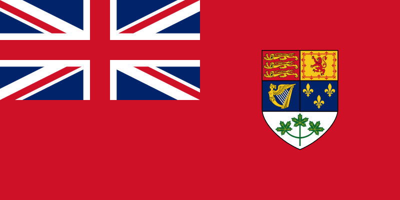 Le Red Ensign canadien (1921-1957)