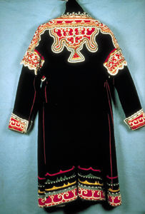 Mi'kmaq chief's coat