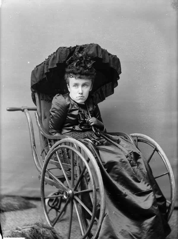 Mary Macdonald, daughter of Sir John A. Macdonald, 1893.
