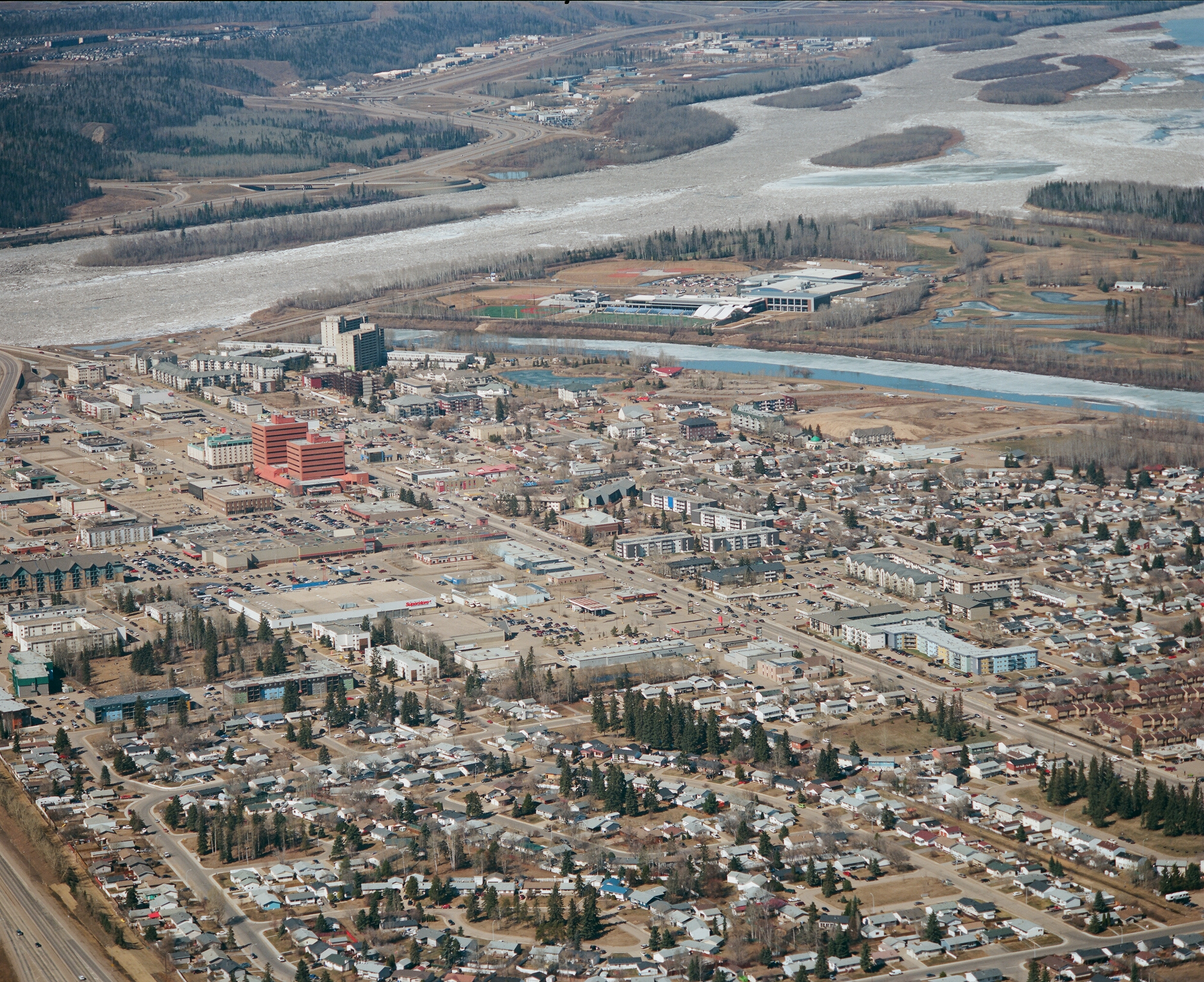 Downtown Fort McMurray