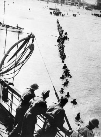 Evacuation of Dunkirk 1940