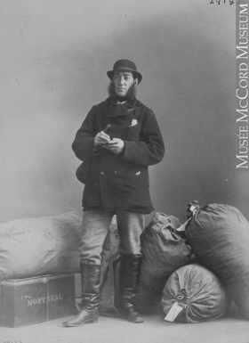 Mr. Wamsley, postal worker in Montreal, QC, 1867.