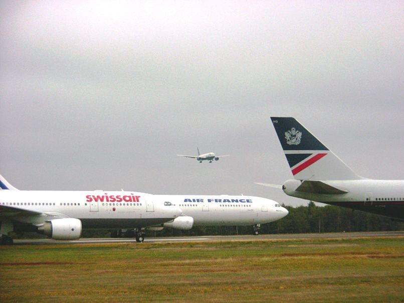 Diverted Aircraft, September 11, 2001