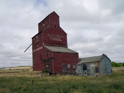 Wood Mountain Grain Elevator