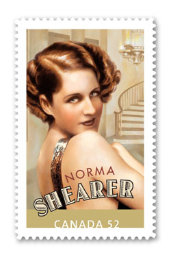 Norma Shearer Commemorative Stamp