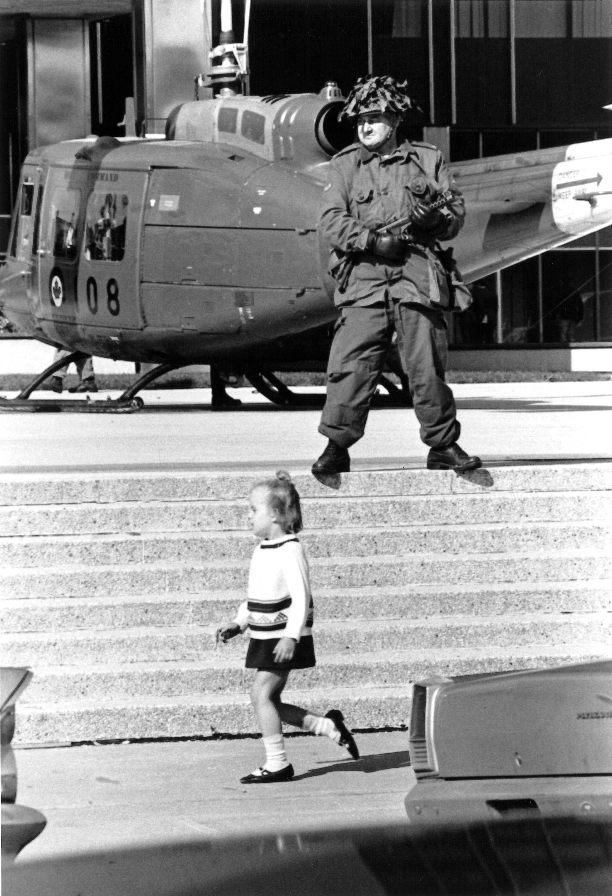 Soldier and Child