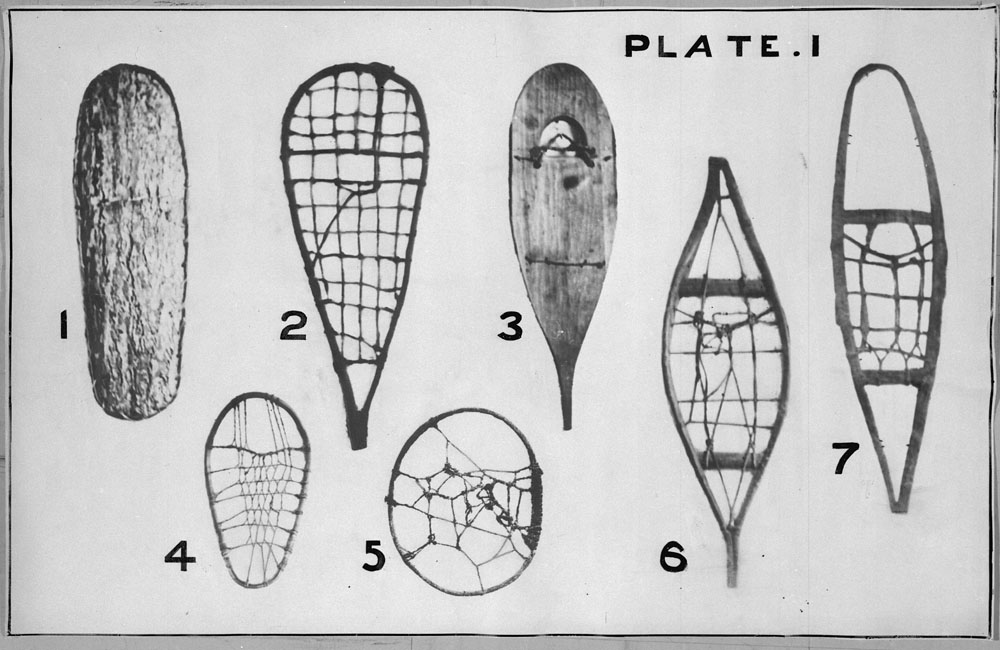 Styles of snowshoes