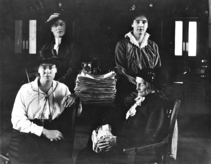Women's Suffrage in the West