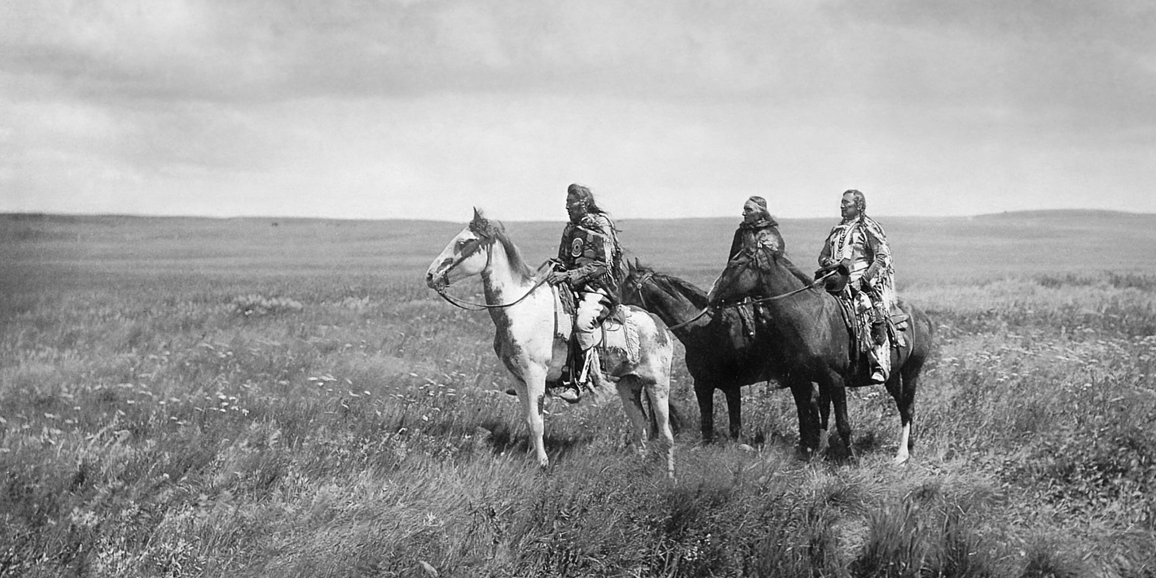Three Piikani (Peigan) Chiefs