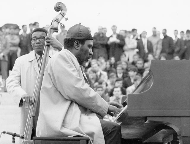 Theolonious Monk at Expo '67 in Montreal.