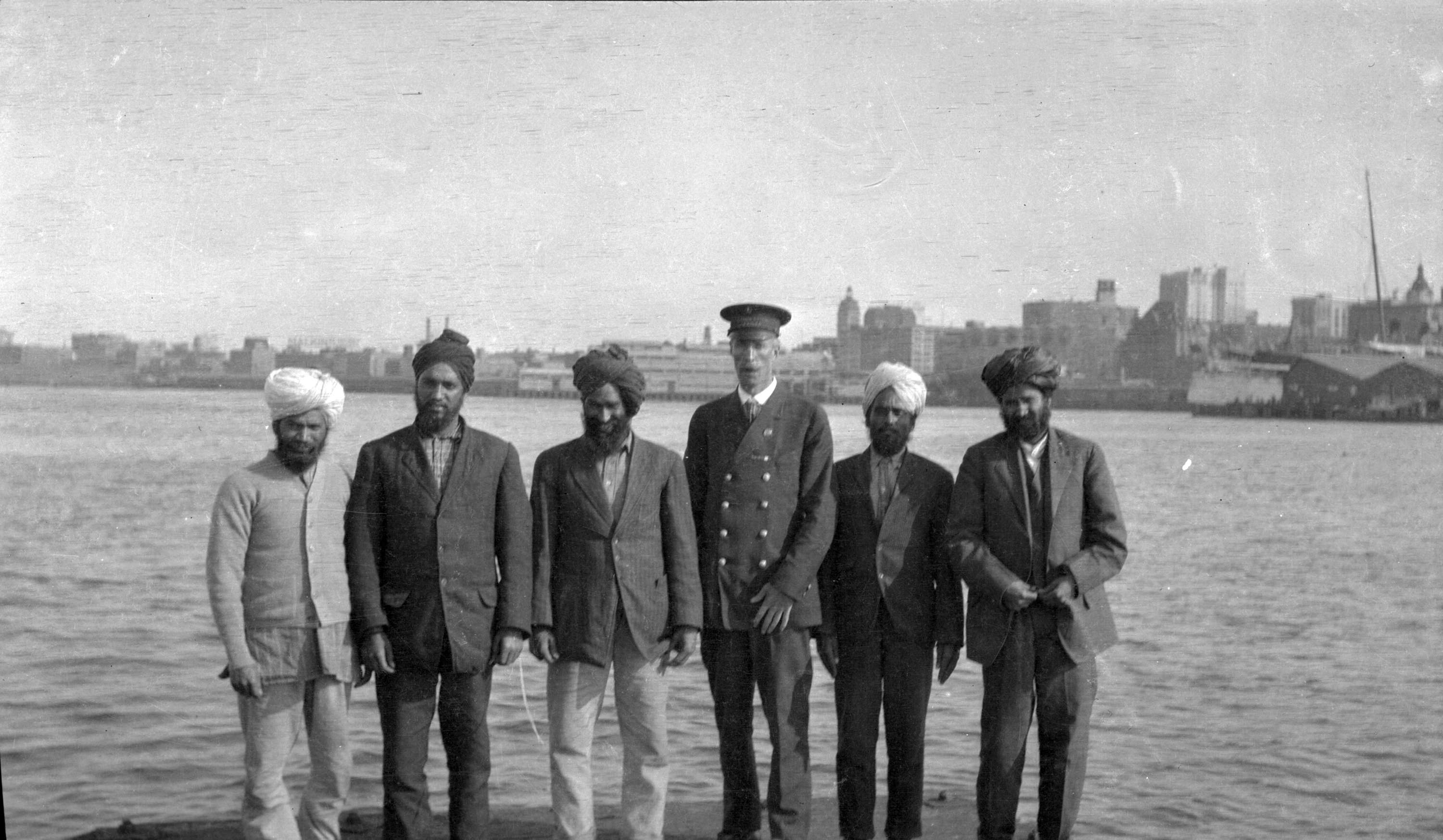 Passengers from the SS Komagata Maru, 1914.