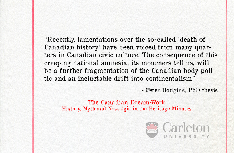A part of our heritage | The Canadian Encyclopedia
