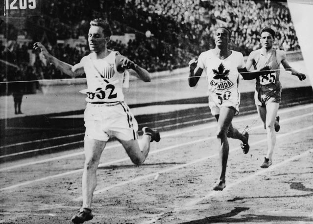 Phil Edwards 800m 1928