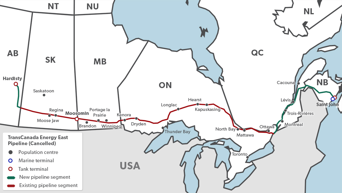 Pipelines In Canada The Canadian Encyclopedia