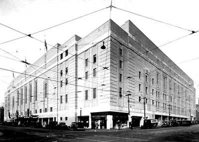 Maple Leaf Gardens, Exterior