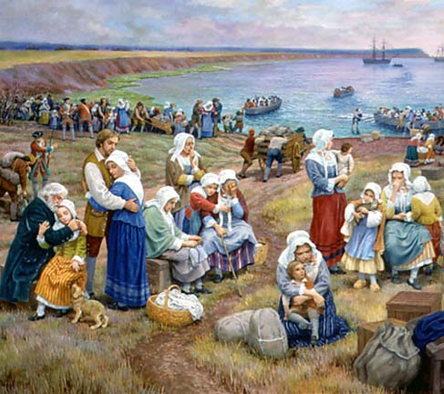 The Deportation of the Acadians