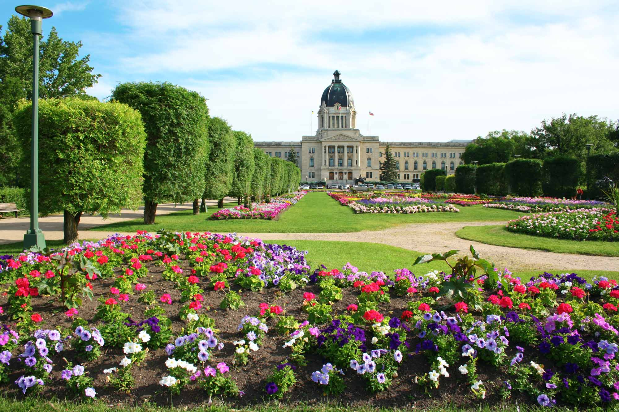 Édifice de l'Assemblée legislative de la Saskatchewan