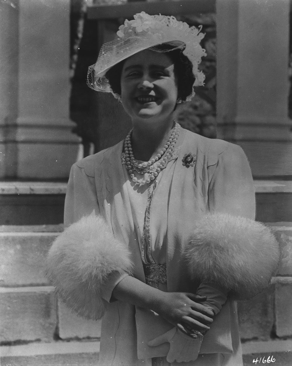 Queen Elizabeth in Ottawa, 1939.