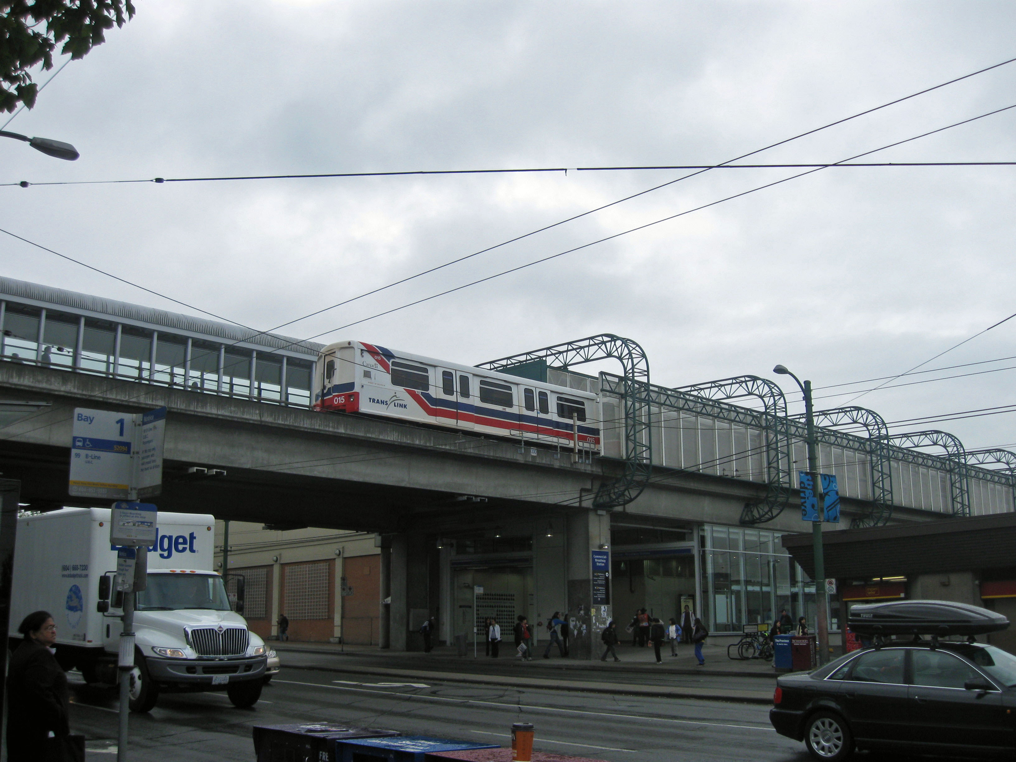 Broadway Station, Expo Line, Vancouver SkyTrain, 2010