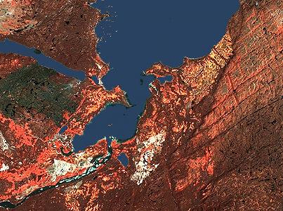 Happy Valley–Goose Bay (image-satellite)