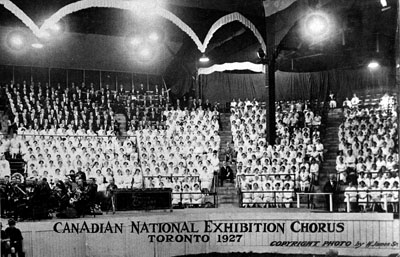 Chorus, Canadian National Exhibition