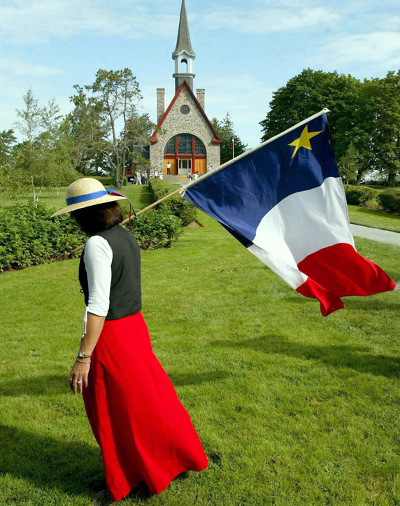 Acadian singer Jeanne (Doucet) Currie from Annapolis Royal, N.S.