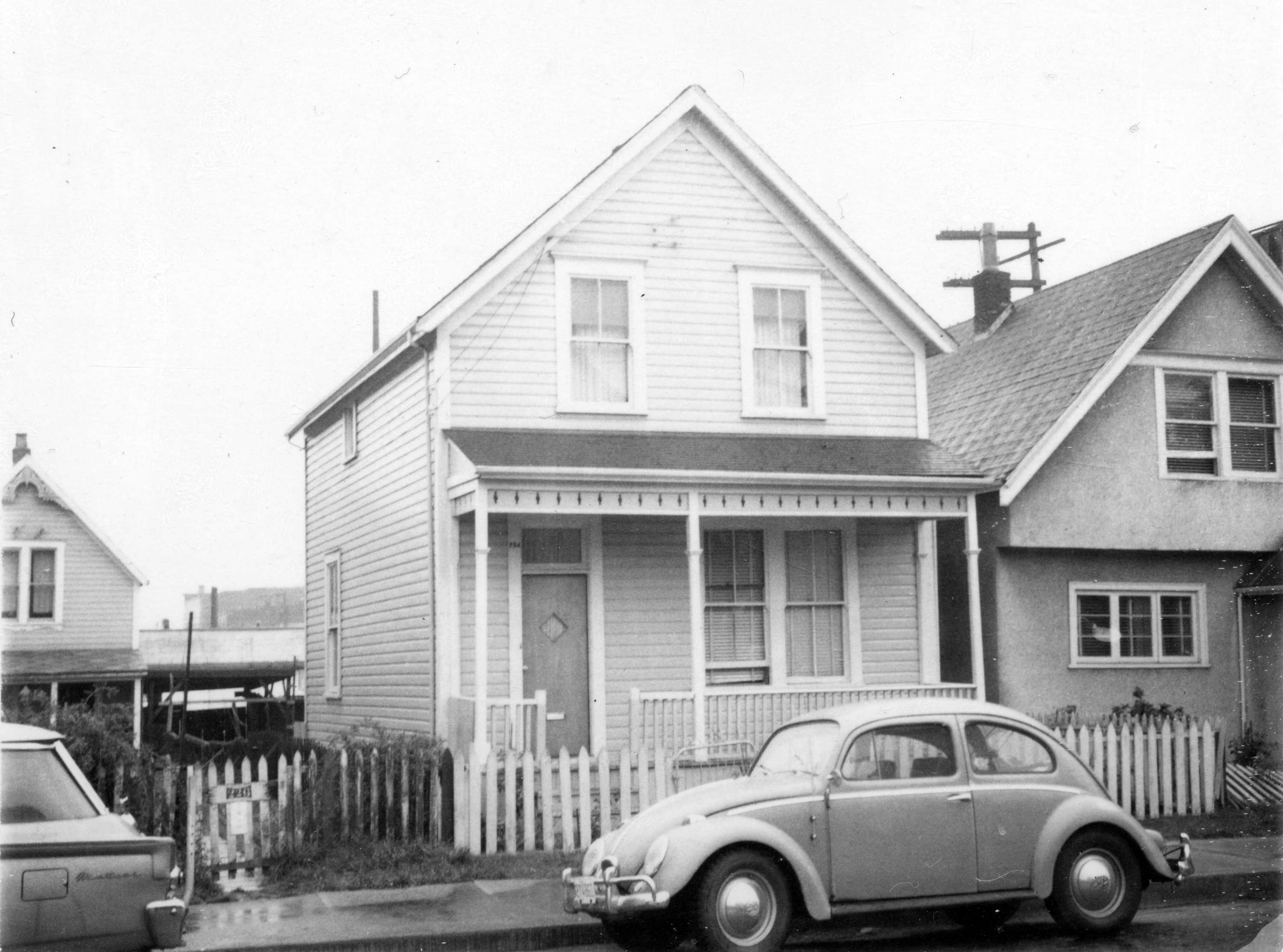 224 Union Street, a street in Hogan's Alley, 1968, in Vancouver B.C.