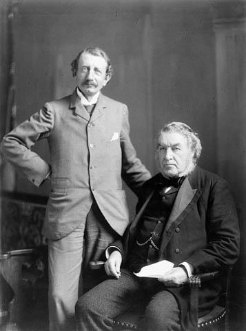 Hugh John Macdonald and Sir Charles Tupper